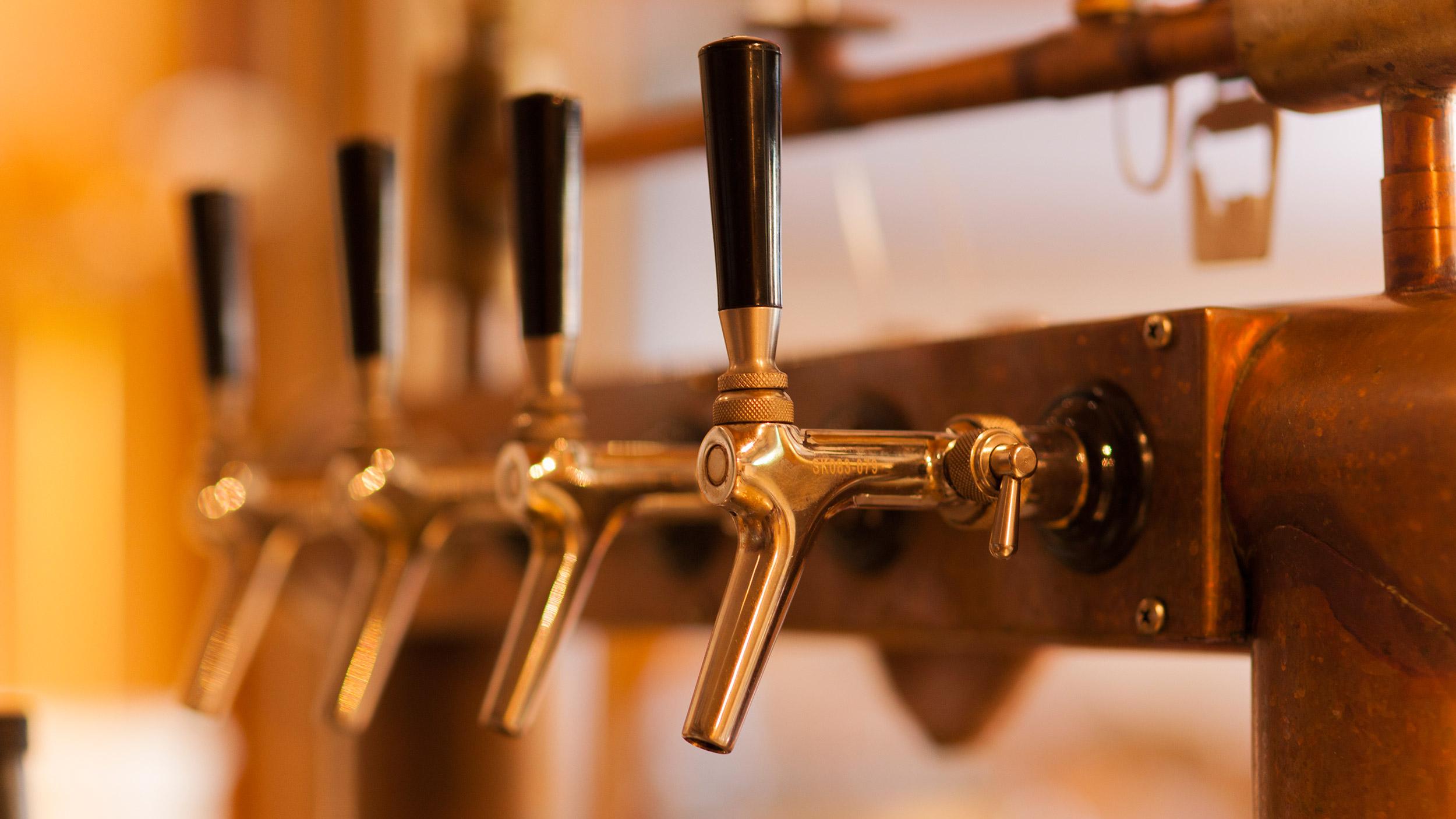 frisches Bier im Gasthof Rössle in Rangendingen